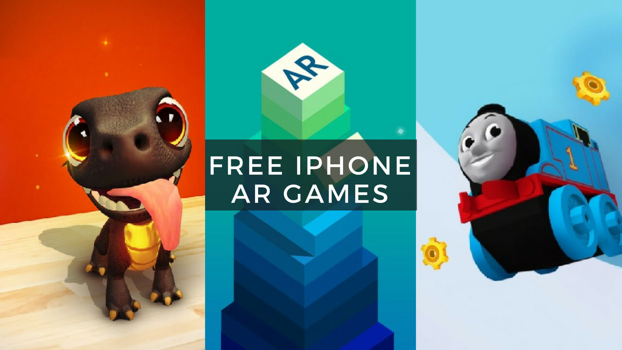 Top 5 Free iPhone AR Games You Should Definitely Tryout