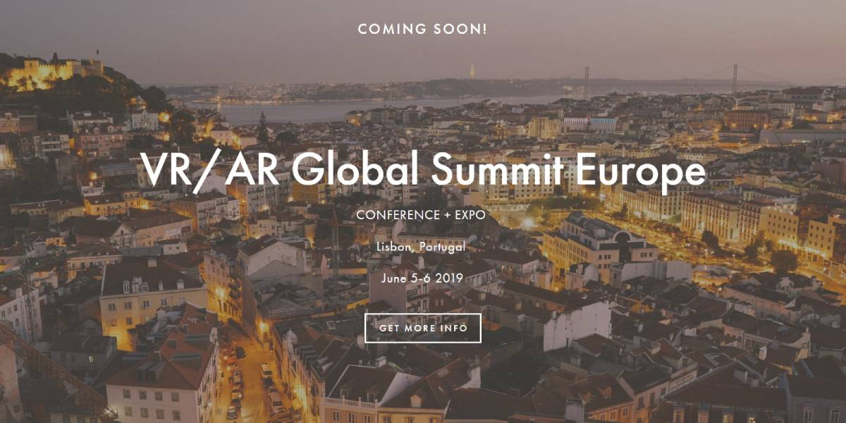 Mark Your Calendar for The 2019 VR/AR Global Summit Europe | Tech Prior